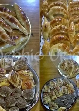 Croissants, facturas y medialunas de crema! súper cremositas 💕 💕💕 😋