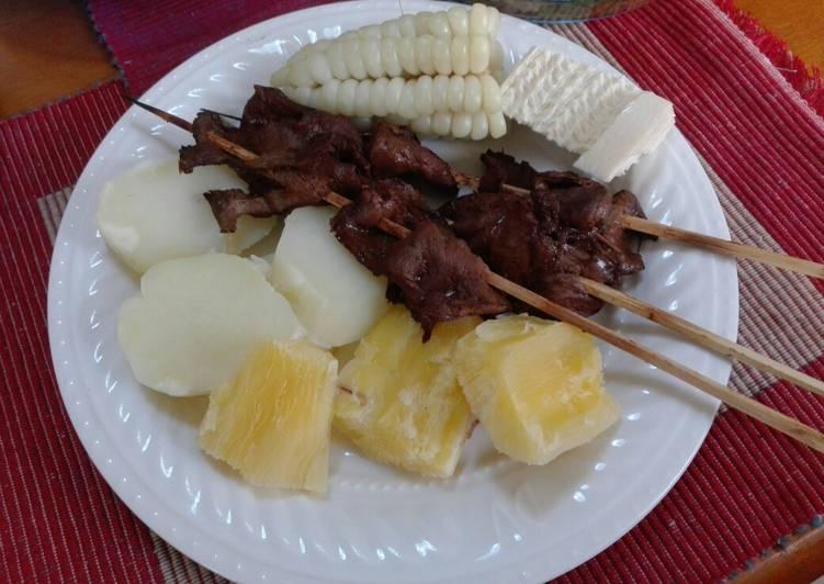 Anticuchos Peruanos 🇵🇪