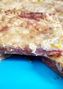 Pastelón york-queso