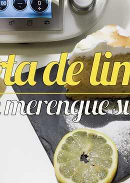 Tarta de limón con merengue suizo Thermomix