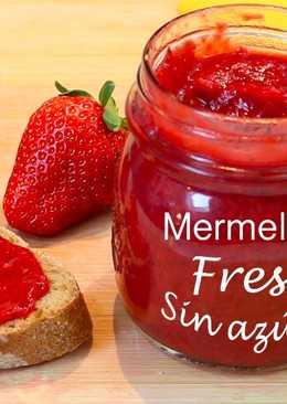 Mermelada de fresa sin azúcar – Receta casera