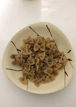 Lacitos bio de otoño con castañas