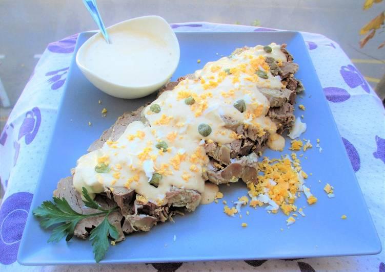 Solomillo de ternera con salsa vitello tonnato tapas for Cocinar solomillo de ternera al horno