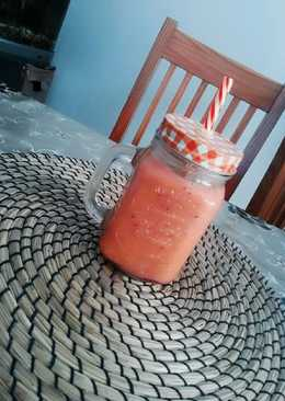 Smoothie Rosa ideal dieta