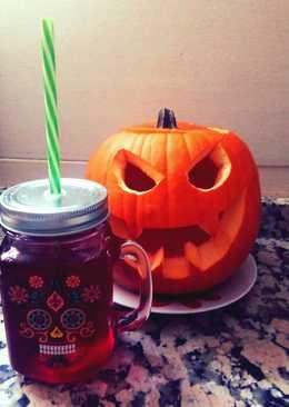 "Cóctel dulce para Halloween ""Very blood"""