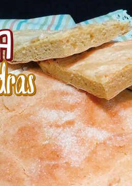 Coca Cristina ¡Torta de almendra!