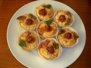 Cupcakes de Roscón de Reyes