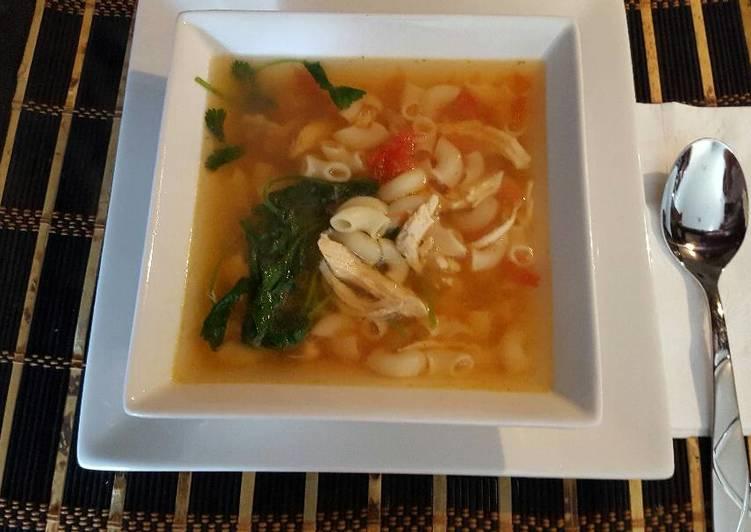 sopa de coditos con pollo receta de j floresdeulloa cookpad
