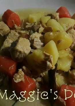 Guiso de carne con patatas estilo andaluz