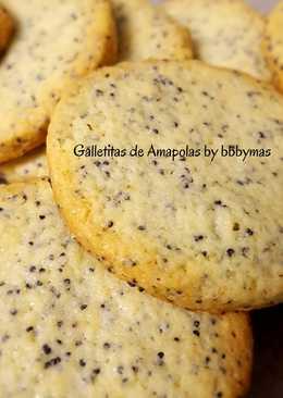 Galletitas de Amapola en 5 pasos! by B.B.B. y más