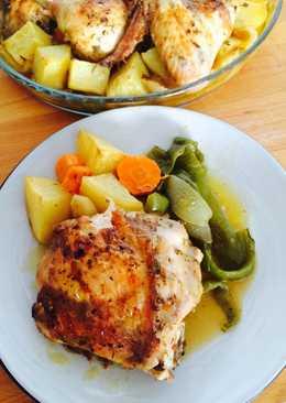 recetas con pollo y vino blanco