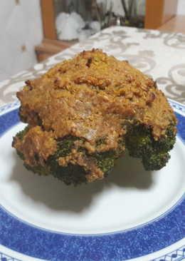 Brócoli asado vegano