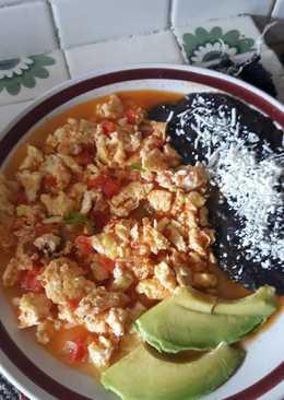Huevos a la mexicana recetas caseras cookpad - Comidas baratas y faciles ...