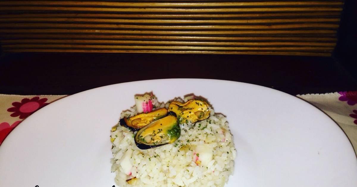 Guarnici n de arroz 50 recetas caseras cookpad for Arroz blanco cocina al natural