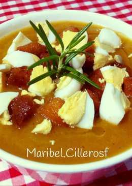 Crema de zanahoria, puerro y otras hortalizas