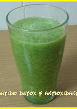 Batido detox y antioxidante