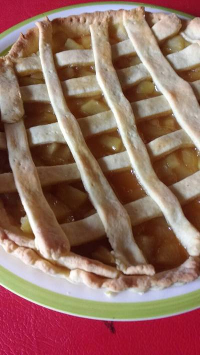 Tartaleta de manzana (kuchen)