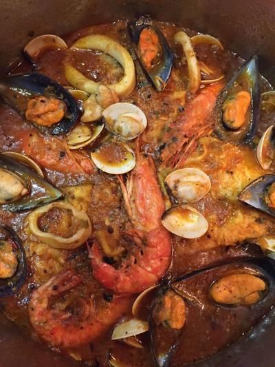 Zarzuela r as altas receta de rebekita cookpad for Cocinar zarzuela