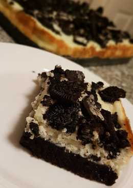 Torta Oreo y ricota al horno