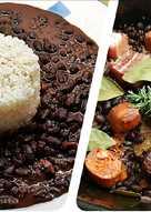 Moros&Cristianos con Compango en olla de cocción lenta Crockpot