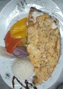 Pez espada con nata 4 recetas caseras cookpad for Cocinar pez espada