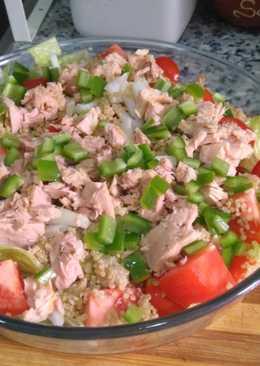 Ensalada con un toque de quinoa
