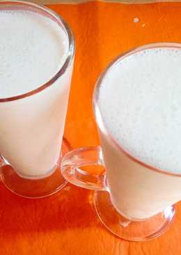 Licuado de banana 🍌con leche y yogurt