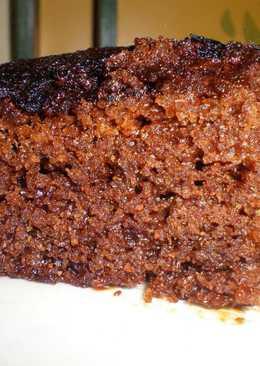 Bizcocho de jengibre (gingerbread cake)