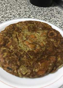 Tortilla de boniato o batata