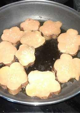 Boniato al horno y pasado por la sartén