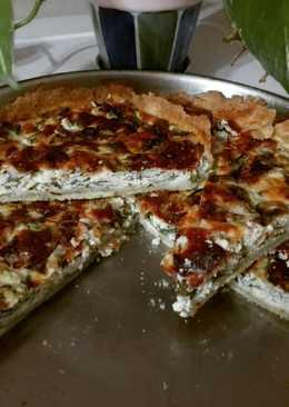 Tarta de rúcula y queso mar del plata