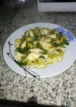Pollo con verduras muy sano