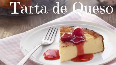 Tarta de queso casera, fácil y riquísima