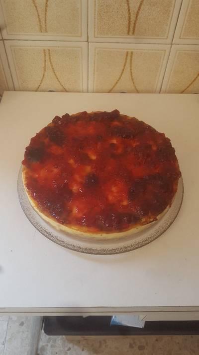 Tarta de queso con horno