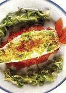 Filetes de lenguado con salmón