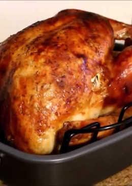 Pavo asado -Thanksgiving