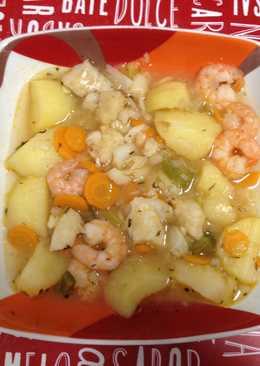 Patatas con pescadilla/ merluza