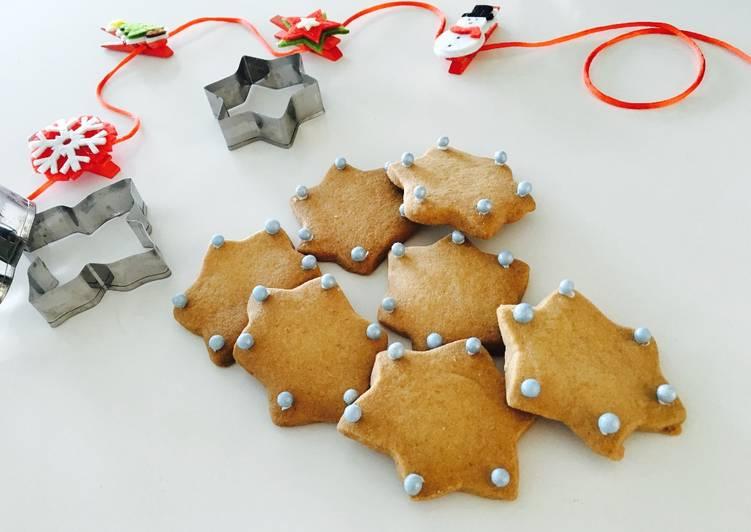 Galletas De Navidad Decoradas De Estrellas Receta De Irene