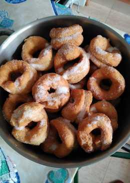 Rosquillas fritas de la abuela