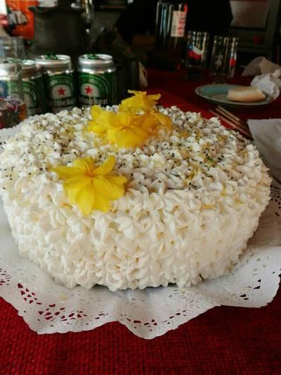 Torta panqueque limón