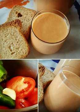 Gazpacho suave para beber (con Thermomix)