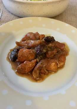Pechuga de pollo al Pedro Ximénez en olla rápida