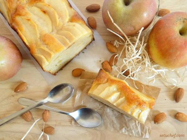 Bizcocho de manzana fácil y delicioso