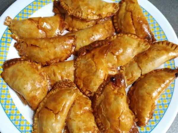 Empanadillas de atún al horno
