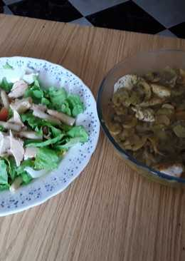 Filetes de pechuga de pollo al curry