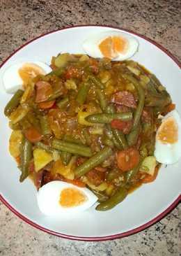 Judias verdes con tomate 667 recetas caseras cookpad - Judias con chorizo y patatas ...