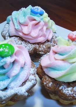 Cupcake de Vainilla con buttercream