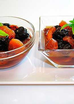 Compota Navideña de frutas secas