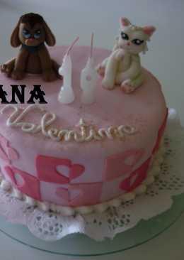 Torta cumpleaños de Valentina