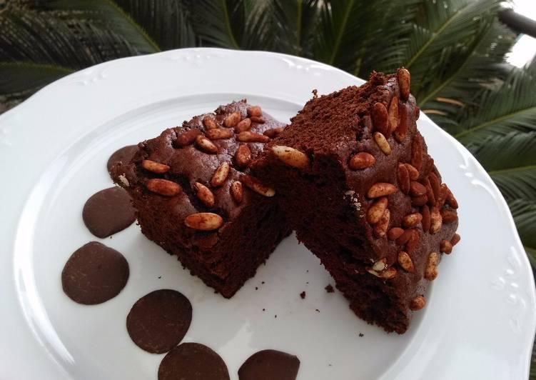 Brownie con piñones
